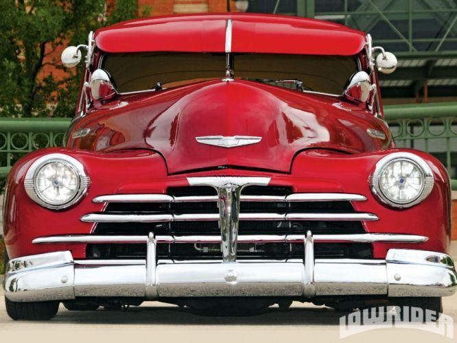 1948 Chevrolet Fleetline lowrider retro custom chevy wallpaper