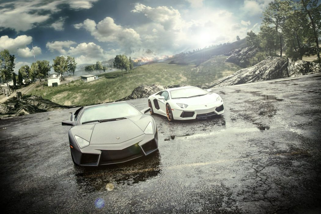 Lamborghini Reventon-Aventador wallpaper