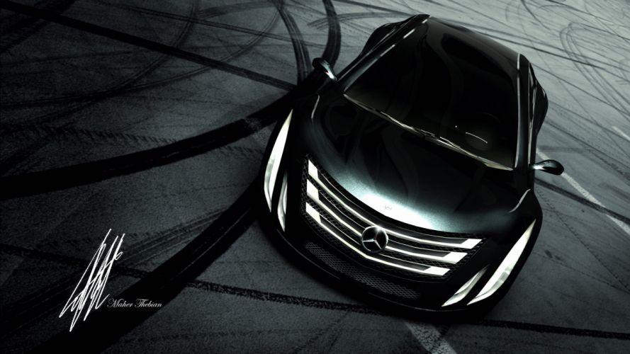 new Mercedes Design wallpaper
