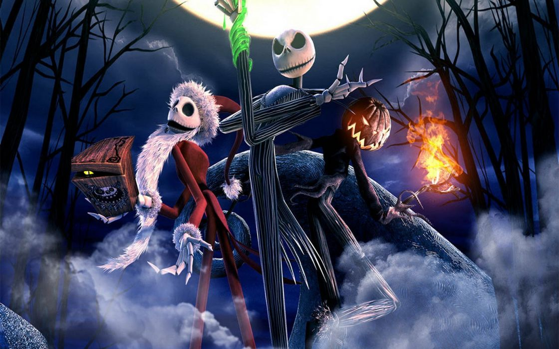 The Nightmare Before Christmas all Jack costums wallpaper