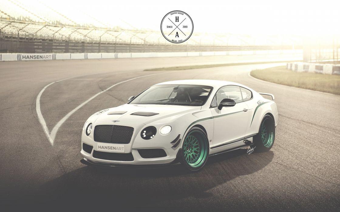 Bentley Continental GT3-R with HansenART Race Pack wallpaper