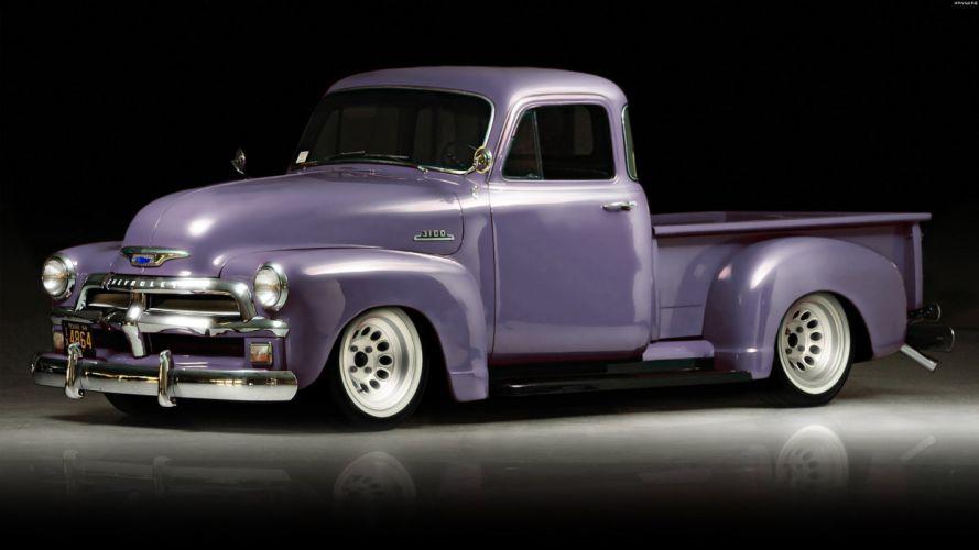 Chevrolet 3100 Pickup '54 wallpaper