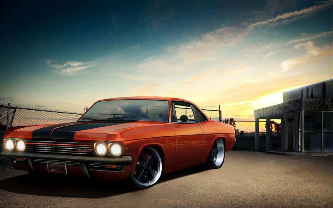 Chevy Impala 67' Custom  wallpaper