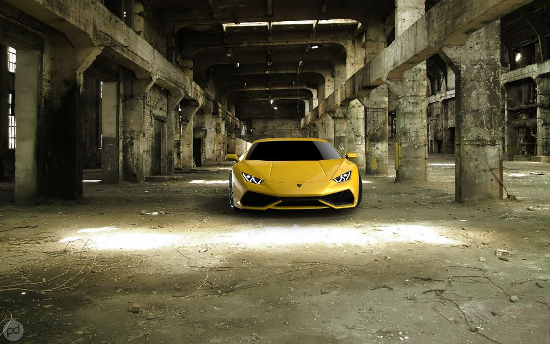 Lamborghini Huracan LP 610-4 wallpaper