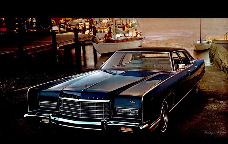 Lincoln Continental 1972 wallpaper