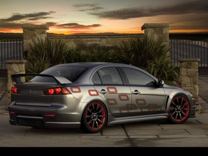Mitsubishi Lancer X wallpaper