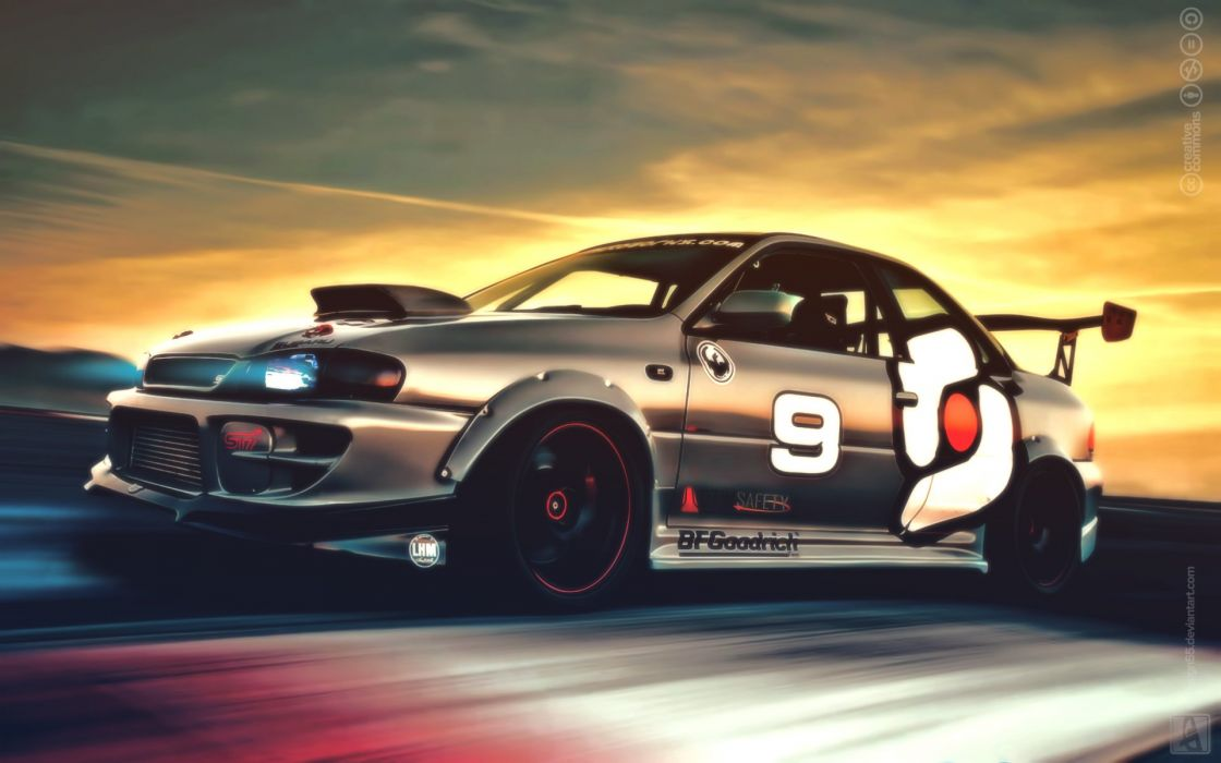 Subaru Impreza GC8 - WP wallpaper