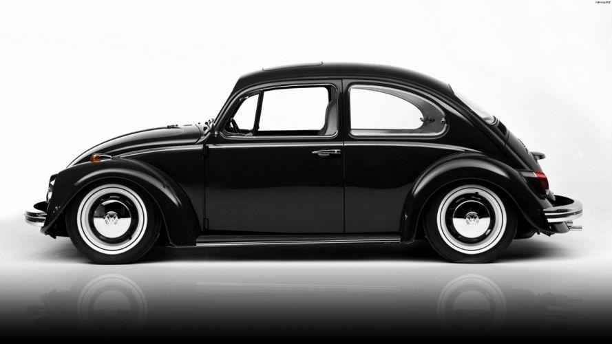 Volkswagen Beetle '68 wallpaper