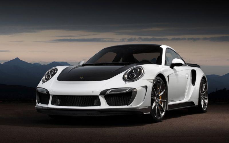 2015 TopCar Porsche 991 Turbo Stinger GTR wallpaper