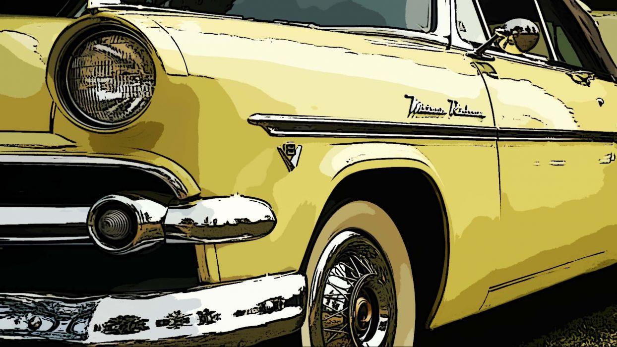 Car in Wallpaper wallpaper