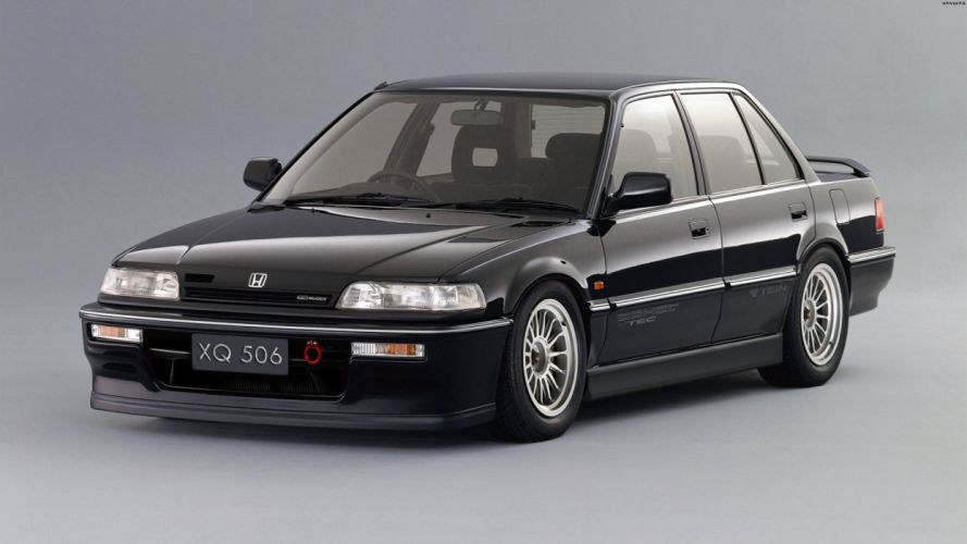 Honda Civic Si Sedan '90 wallpaper