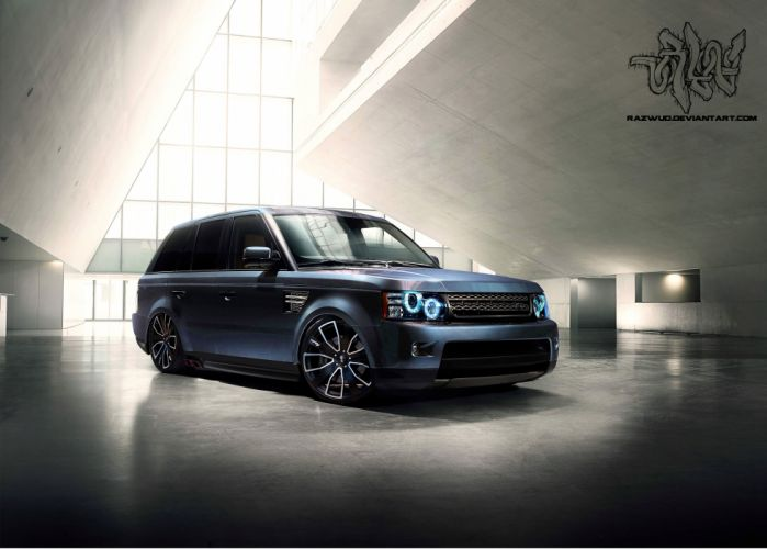 2012 Modified Range Rover Sport wallpaper