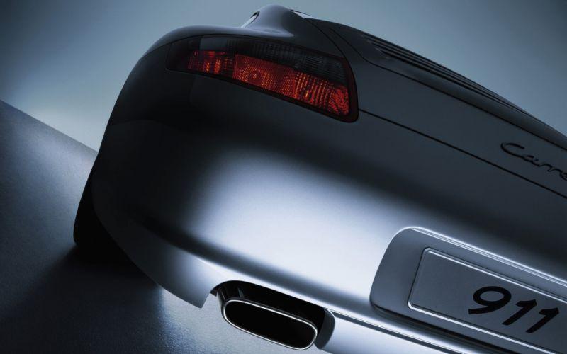 Porsche Carrera 911 rear wallpaper