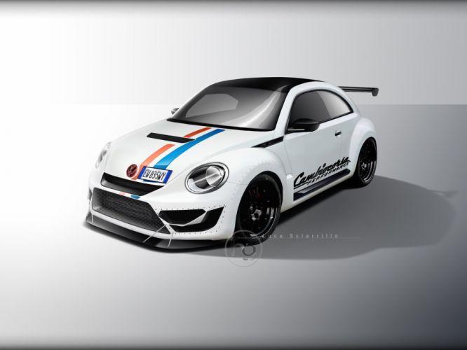 Volkswagen Maggiolino Time Attack Herbie wallpaper