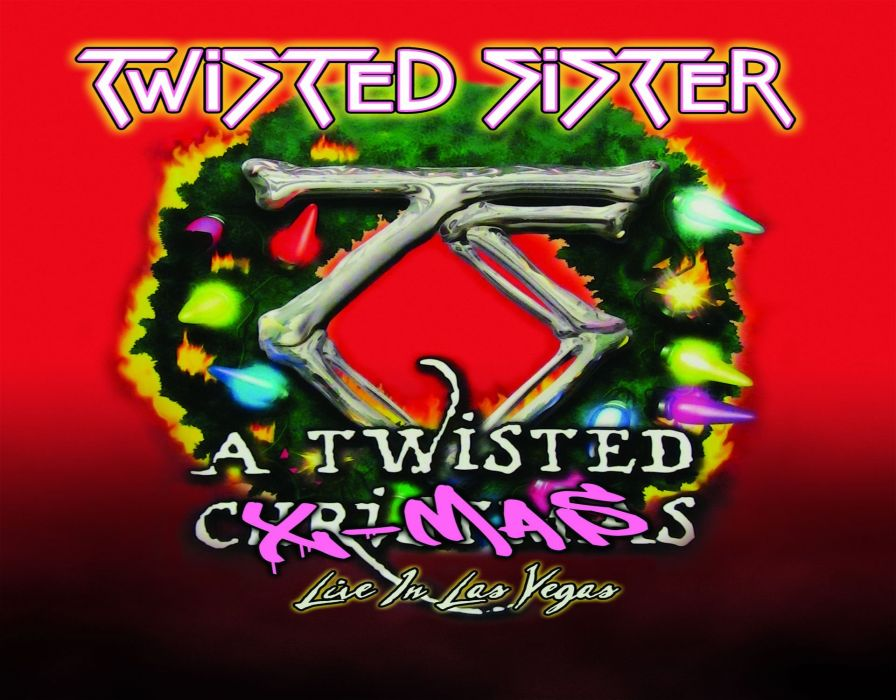 heavy metal christmas holiday twisted sister wallpaper