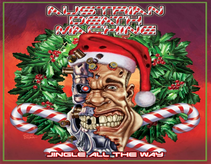 Heavy Metal Christmas.Heavy Metal Christmas Holiday Austrian Death Machine