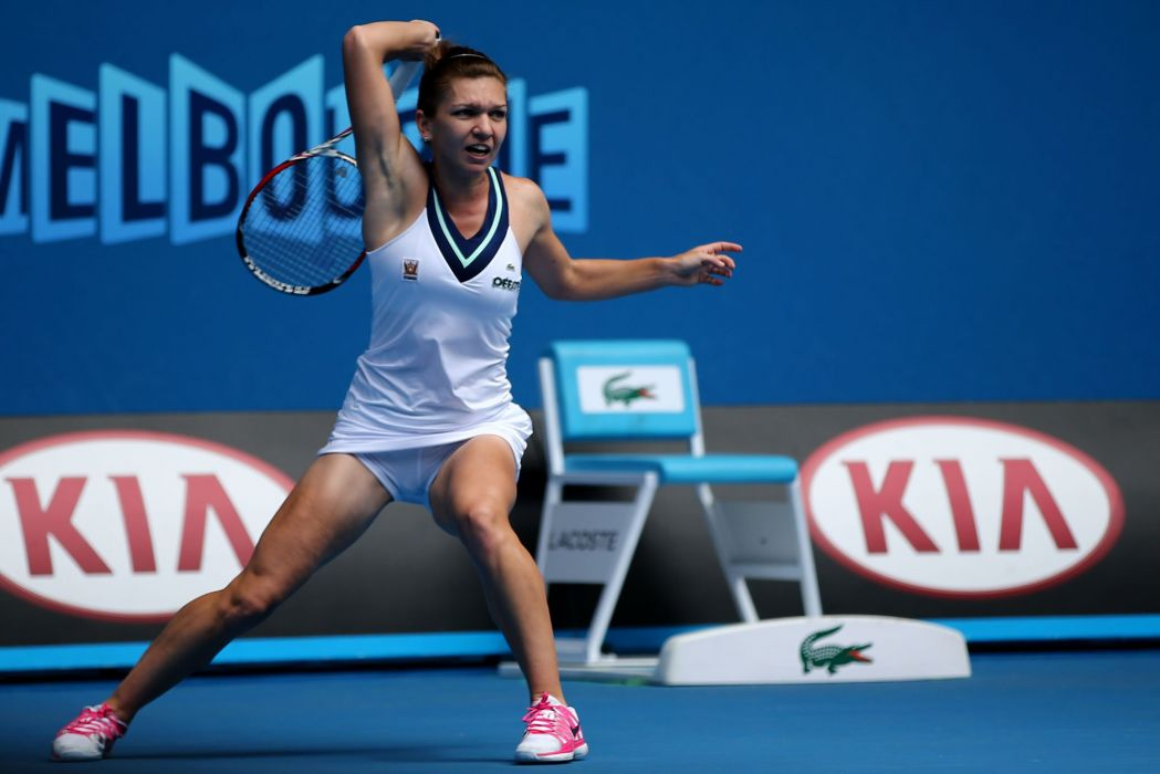 SIMONA HALEP tennis babe wallpaper