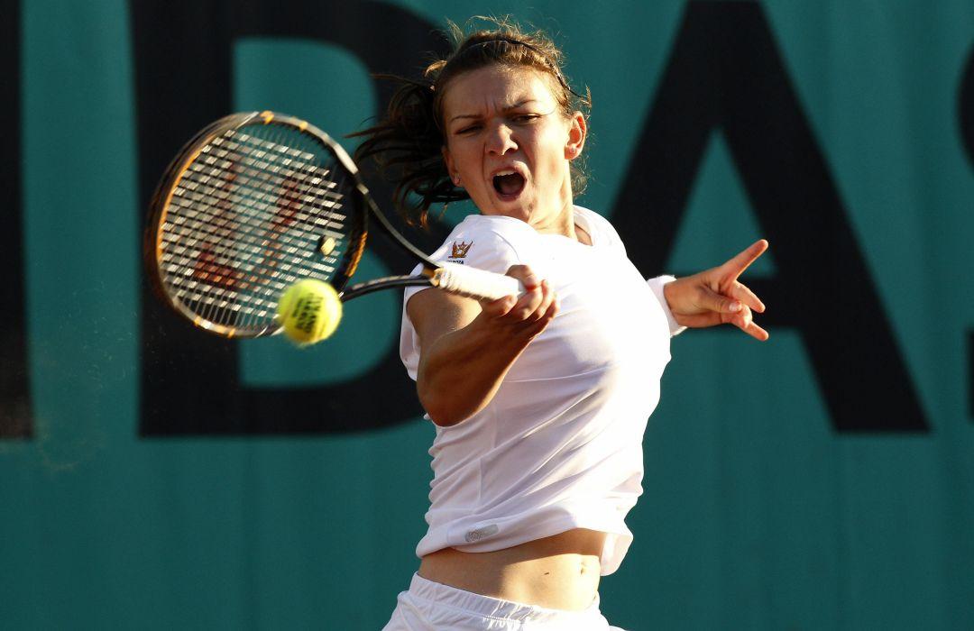 SIMONA HALEP tennis babe wallpaper