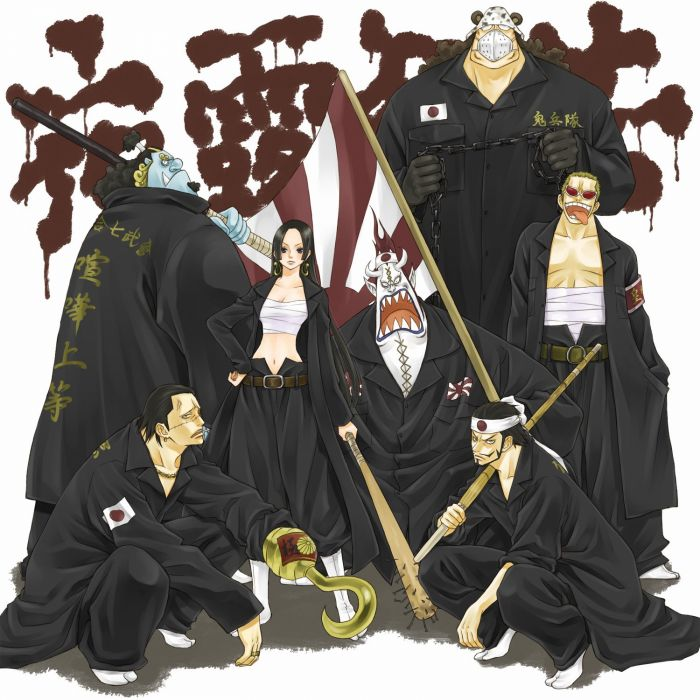 anime series one piece group wallpaper