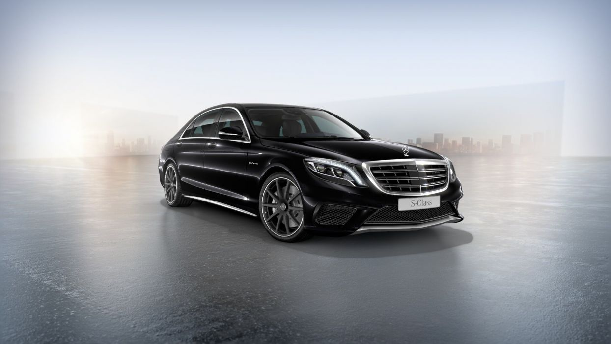 My 2015 Mercedes S65 AMG wallpaper