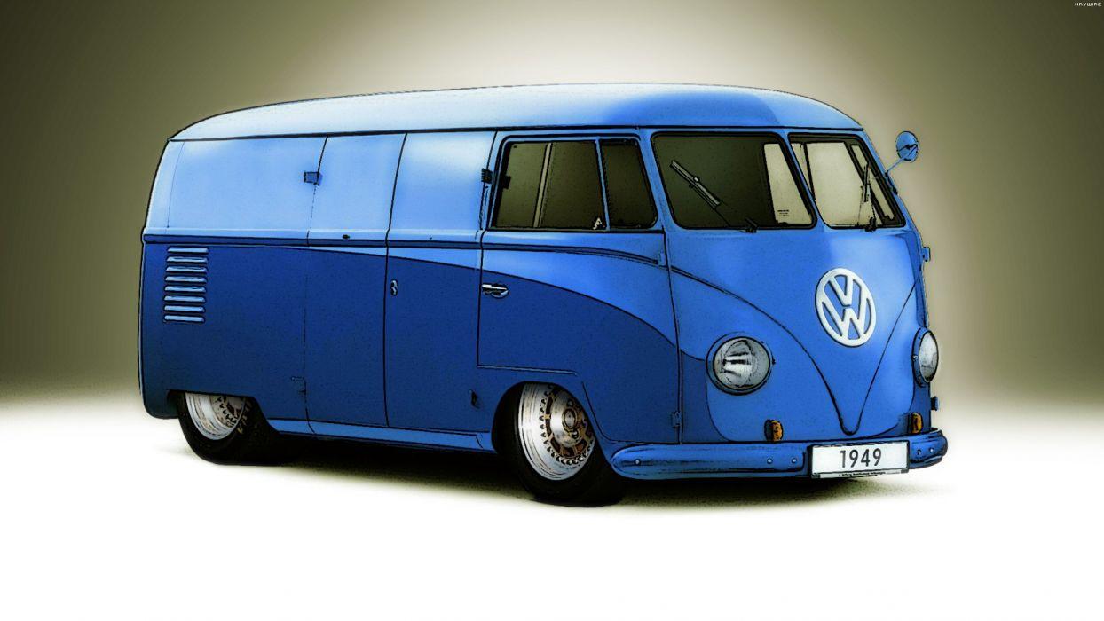 Volkswagen T1 Van '49 wallpaper