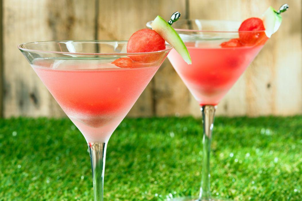 WATERMELON melon fruit red bokeh alcohol wallpaper