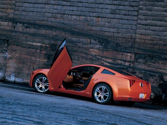 Ford Mustang Giugiaro Back wallpaper