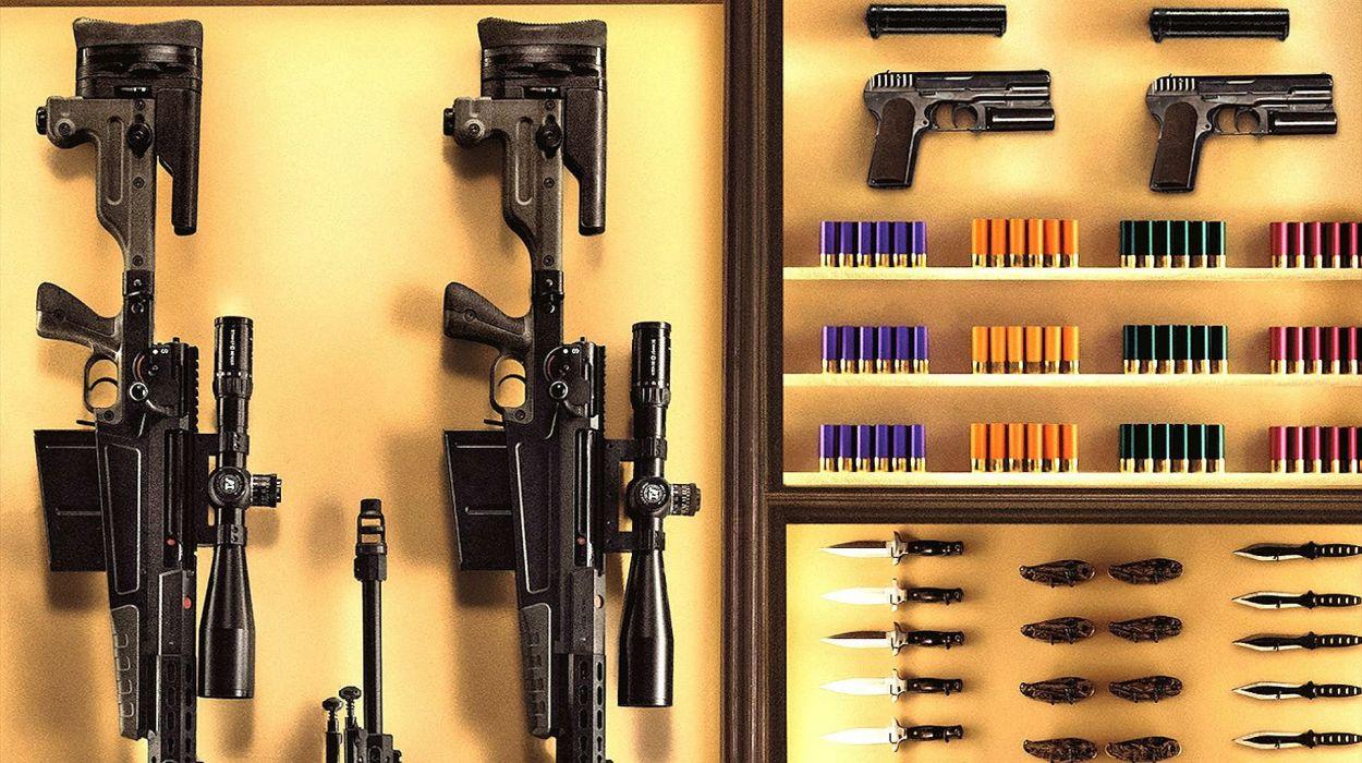 KINGSMAN-SECRET-SERVICE action adventure comedy spy crime kingsman secret service weapon gun wallpaper