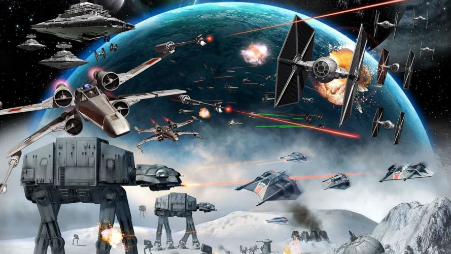 STAR WARS FORCE AWAKENS action adventure sci-fi futuristic 1star-wars-force-awakens spaceship wallpaper
