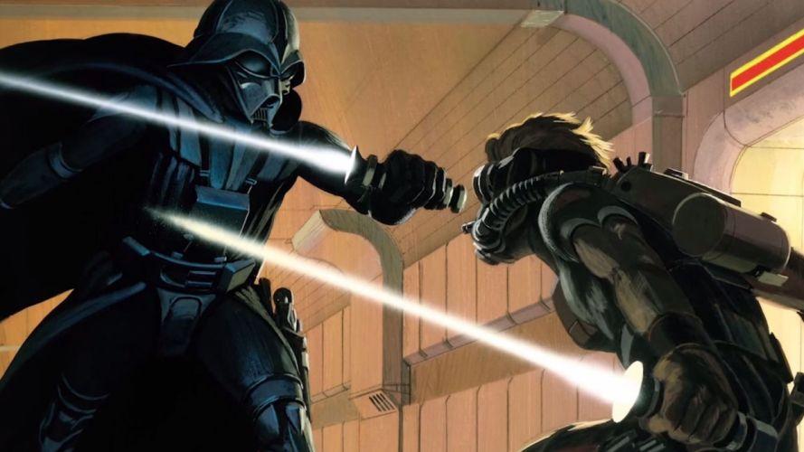 STAR WARS FORCE AWAKENS action adventure sci-fi futuristic 1star-wars-force-awakens wallpaper