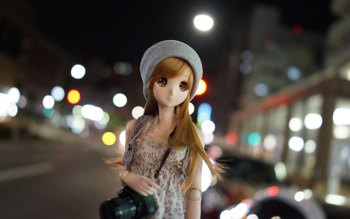 dollfie doll lovely beauty toy cute sweet beautiful wallpaper