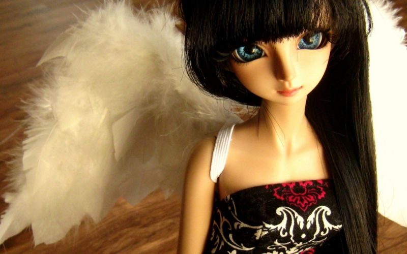 dollfie doll lovely beauty toy cute sweet beautiful wallpaper