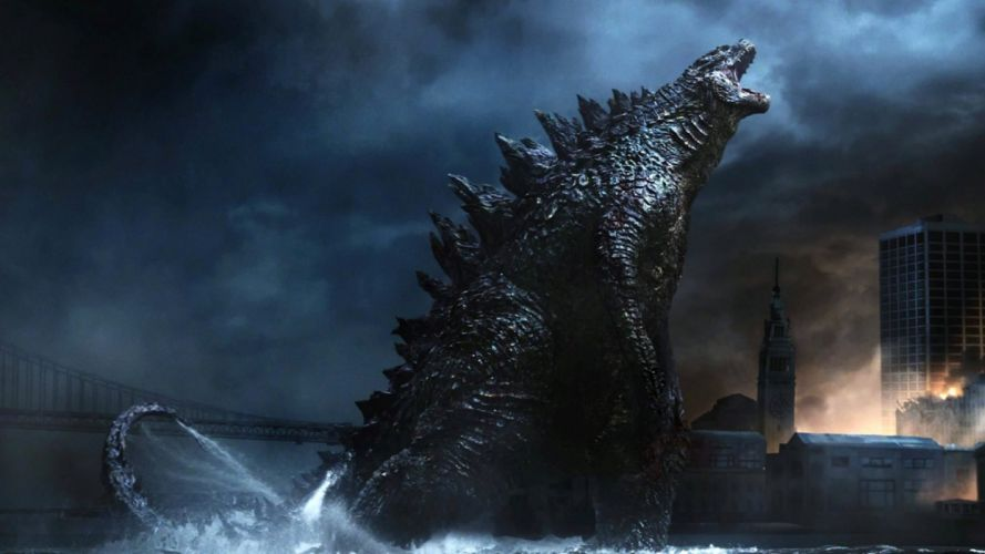 Godzilla 2014 film image wallpaper