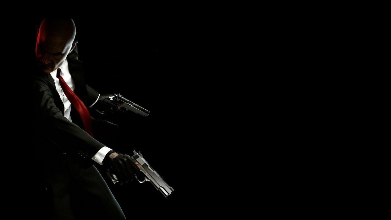 HITMAN thriller action assassin crime drama spy stealth weapon gun pistol assassins wallpaper