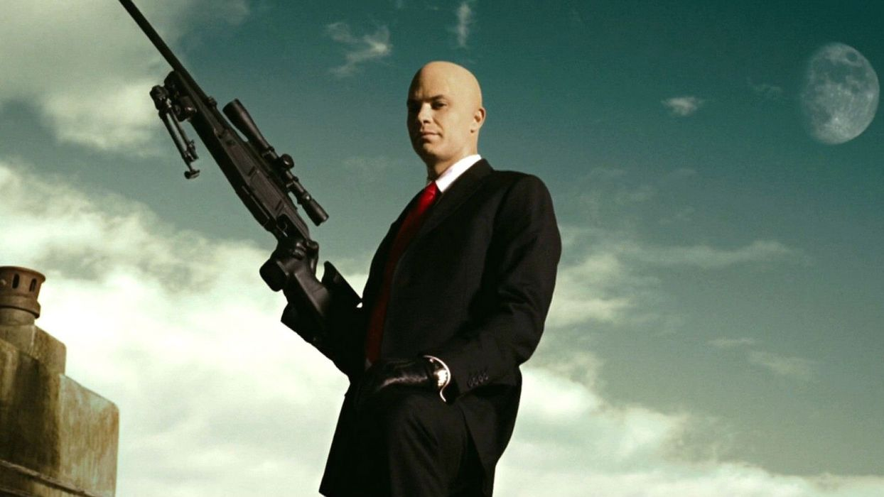HITMAN thriller action assassin crime drama spy stealth assassins weapon sniper wallpaper