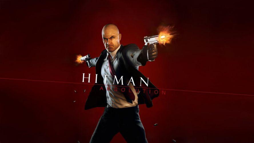 HITMAN thriller action assassin crime drama spy stealth assassins weapon gun pistol wallpaper