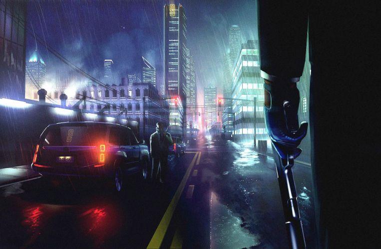 HITMAN thriller action assassin crime drama spy stealth assassins weapon gun pistol city wallpaper