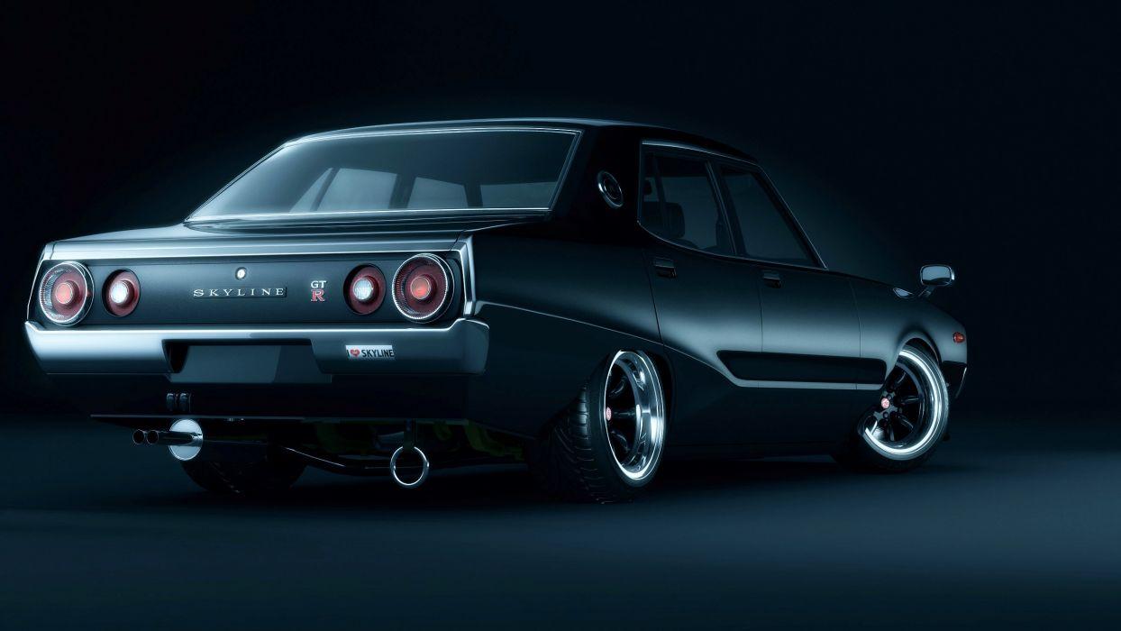 Nissan Skyline c110 Kenmery wallpaper
