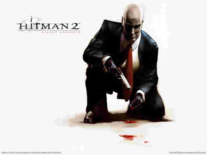 HITMAN thriller action assassin crime drama spy stealth assassins weapon gun pistol blood wallpaper