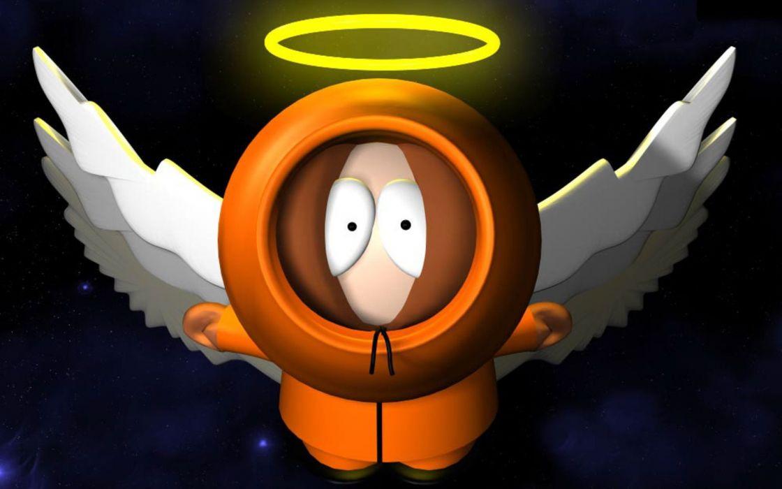 SOUTH PARK animation comedy series sitcom cartoon sadic humor funny 1south-park angel wallpaper