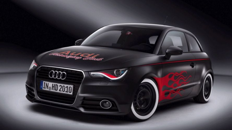 Audi A1 car vehicle wallpaper