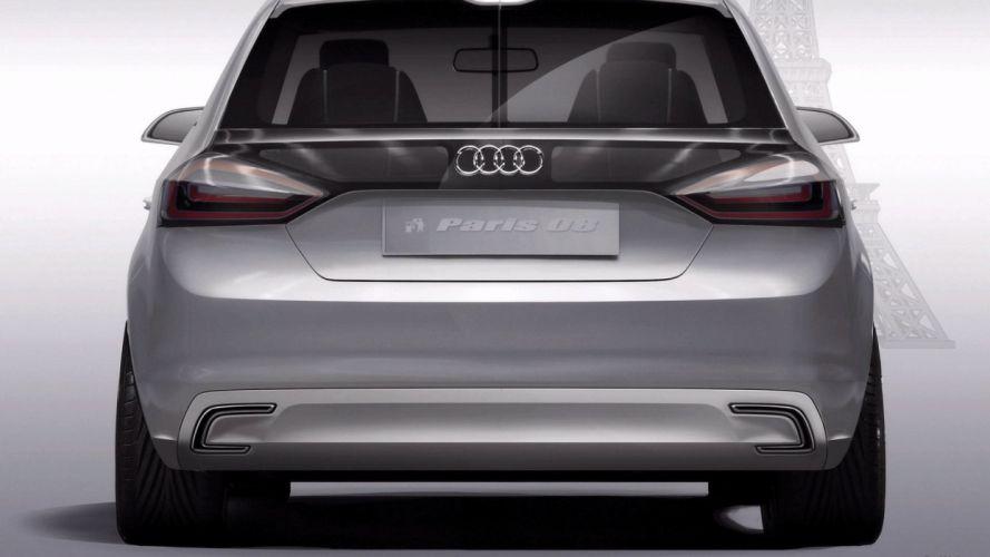 Audi A1 concept car vehicle wallpaper