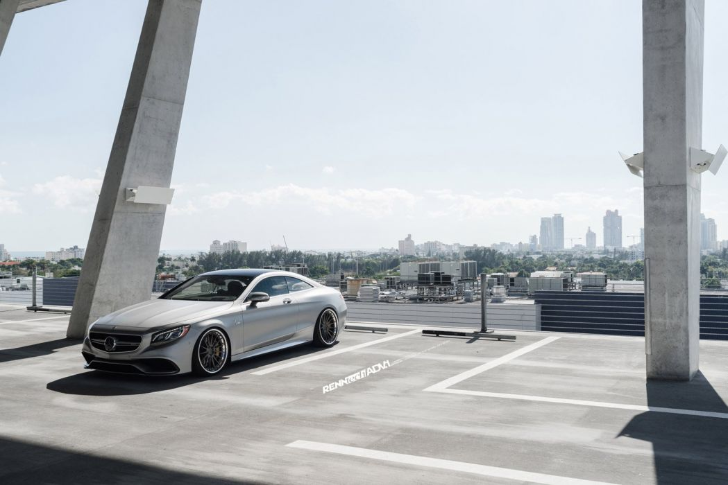 2014 ADV1 MERCEDES S63 COUPE supercars wheels wallpaper