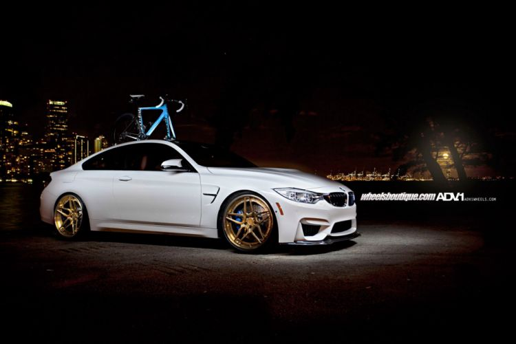 2014 ADV1 bmw m4 supercars wheels wallpaper