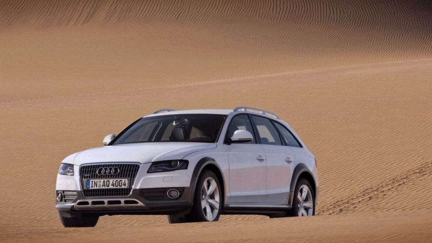 Audi A4 allroad car vehicle quattro wallpaper