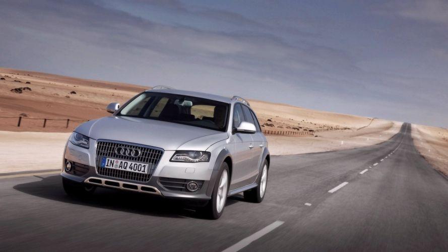 Audi A4 allroad car vehicle quattro wallpaper