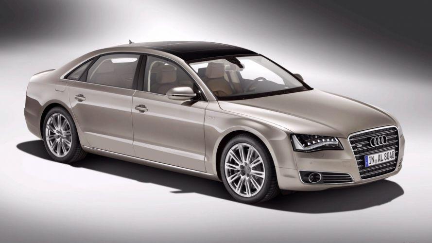Audi A8 FSI car vehicle quattro wallpaper