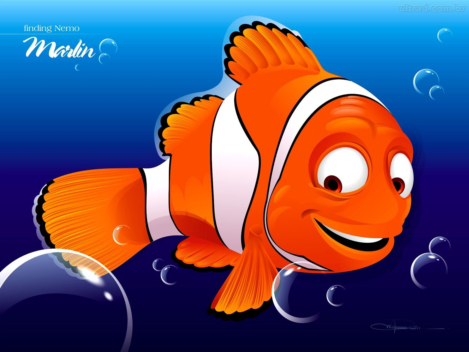 Finding nemo animation underwater sea ocean tropical fish for Finding nemo fish