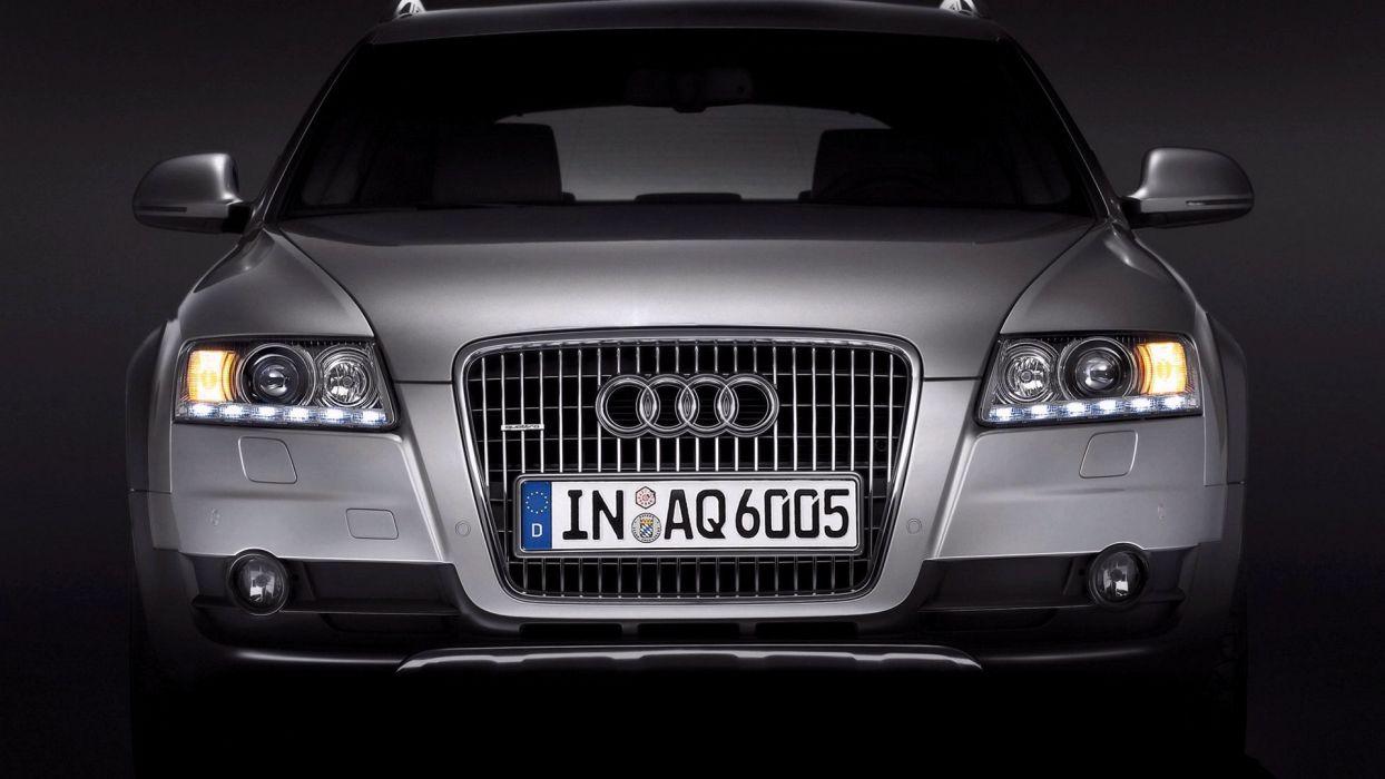 Audi A6 allroad car vehicle quattro wallpaper
