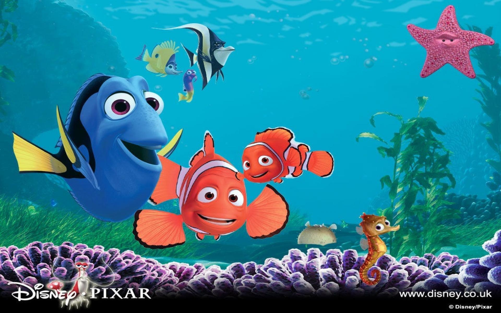 Finding Nemo Disney Walt Disney Movies Fish Animation: FINDING NEMO Animation Underwater Sea Ocean Tropical Fish